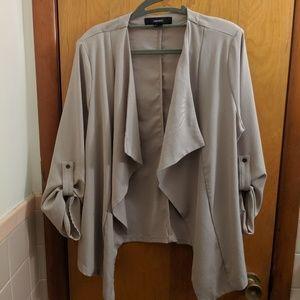 Forever 21 drape front cardigan